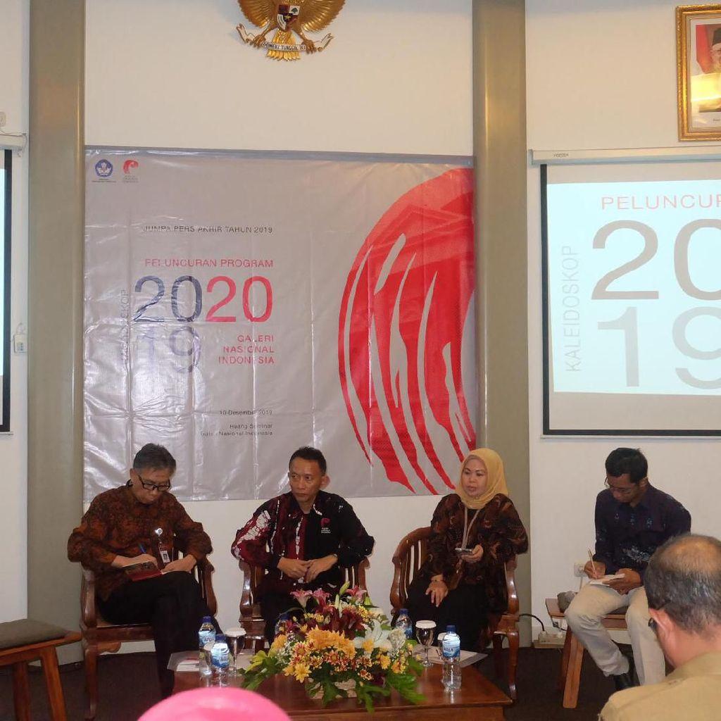 11 Lukisan Koleksi Galeri Nasional Indonesia Direstorasi
