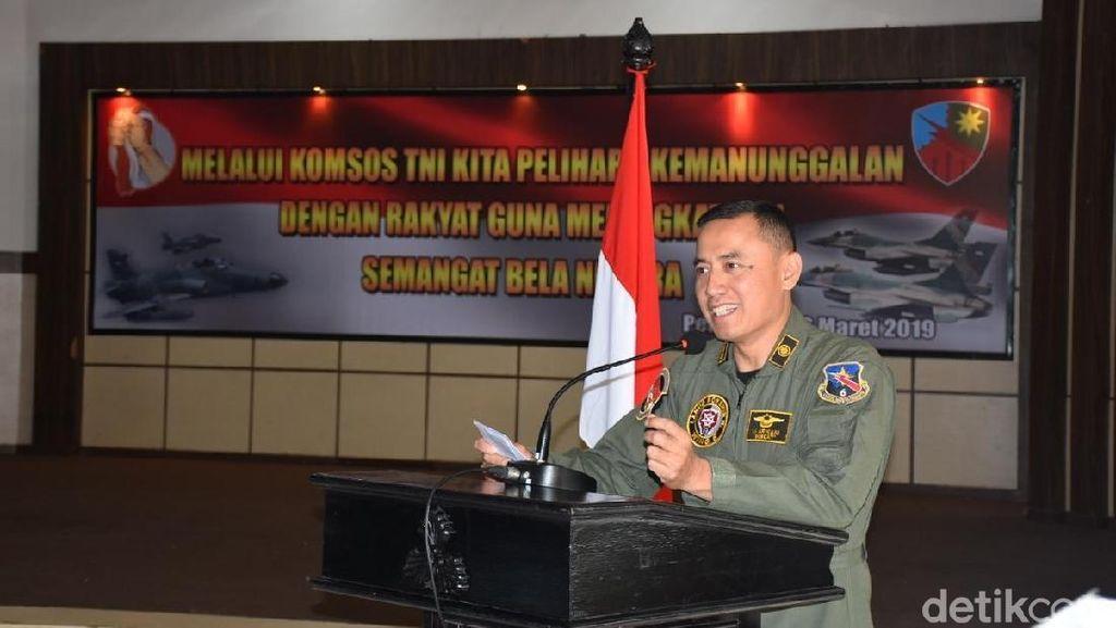 Komandan Pilot Tempur Lanud Pekanbaru Tutup Usia