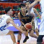 Kalah dari Filipina, Tim Basket Putra Indonesia Realistis
