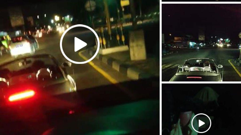 Ending Video Viral Pemobil Mewah Ugal-ugalan vs Sopir Travel Sleman
