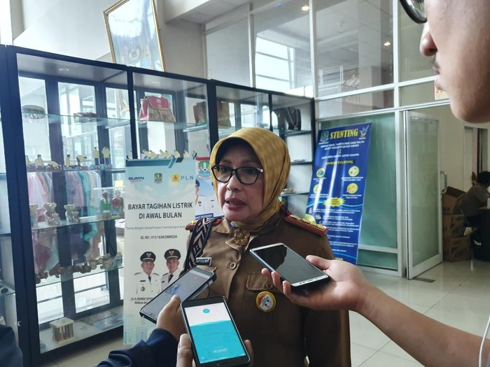 Foto: Kepala Dinas Kesehatan Kota Bekasi Tanti Rohilawati (Isal Mawardi-detikcom)