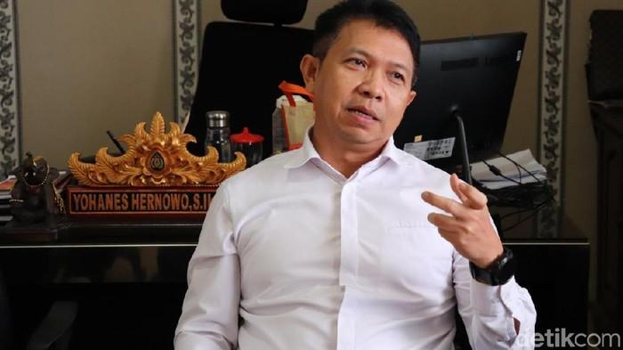 Foto: Direktur Reserse Narkoba Polda Banten Kombes Yohanes Hernowo. (Bahtiar-detikcom)