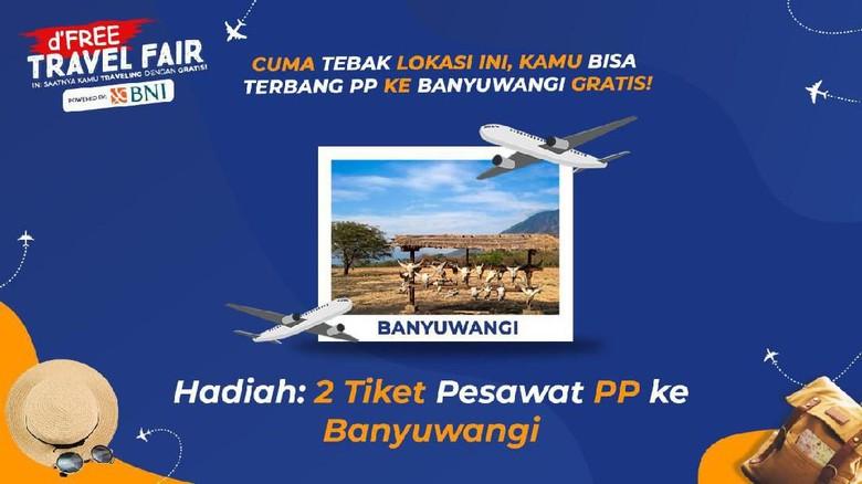 Mau Tiket Gratis ke Banyuwangi? Tebak-tebakan Dulu Yuk. (Foto: dok. detikcom)
