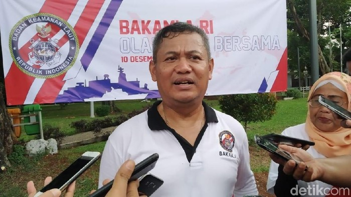 Foto: Kepala Bakamla RI Laksdya Bakamla A. Taufiq R (Wilda Hayatun Nufus/detikcom)