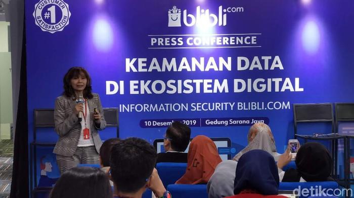 Erna Damayanty, Managing Director BSI Indonesia. Foto: detikINET/Anggoro Suryo Jati