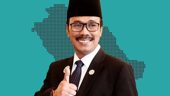 Duta Besar RI untuk Arab Saudi Agus M Abegebriel (Montase foto: Mindra Purnomo)