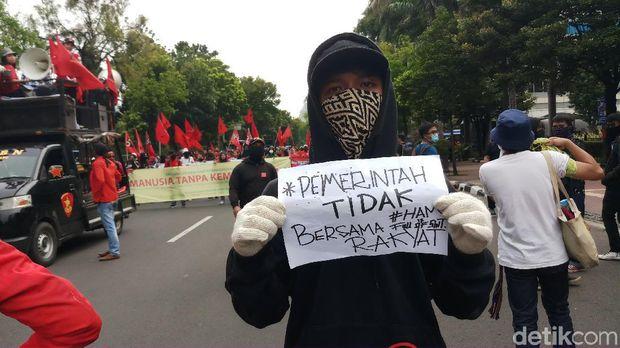 Demo untuk memperingati Hari HAM Internasional