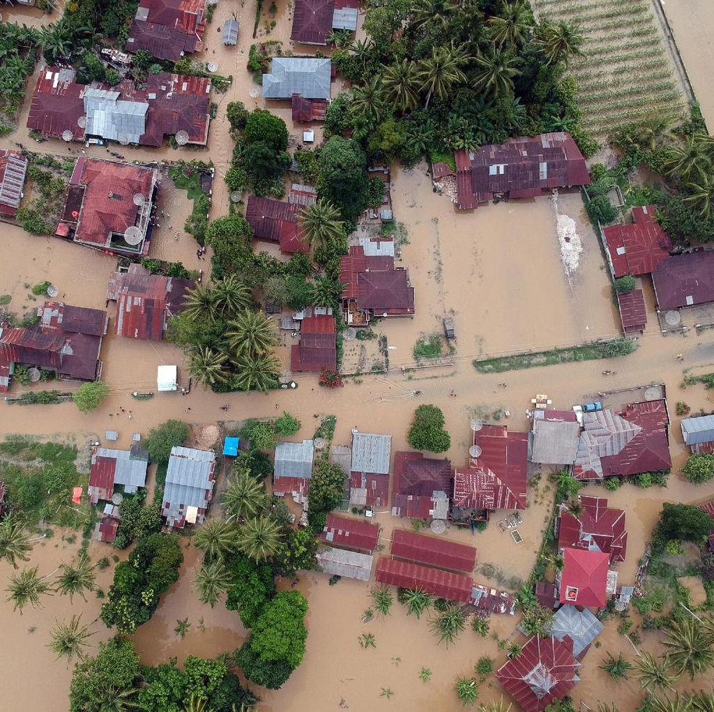 Kabupaten Lima Puluh Kota di Sumbar Masih Terendam Banjir