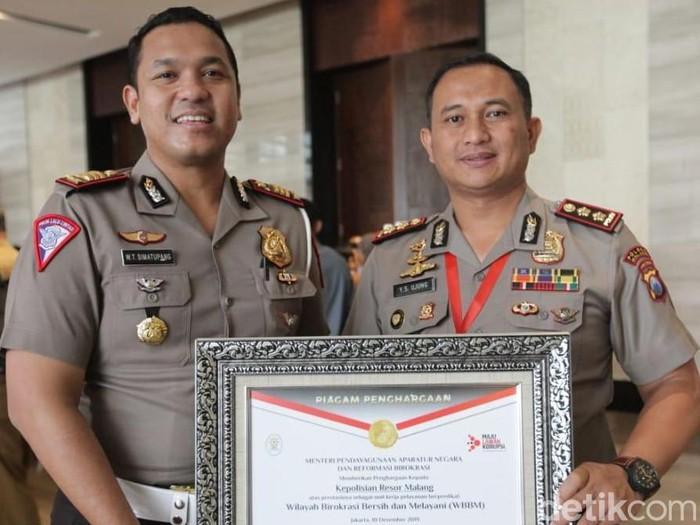 Inovasi Simanis Turut Hantarkan Polres Malang Raih Wbbm