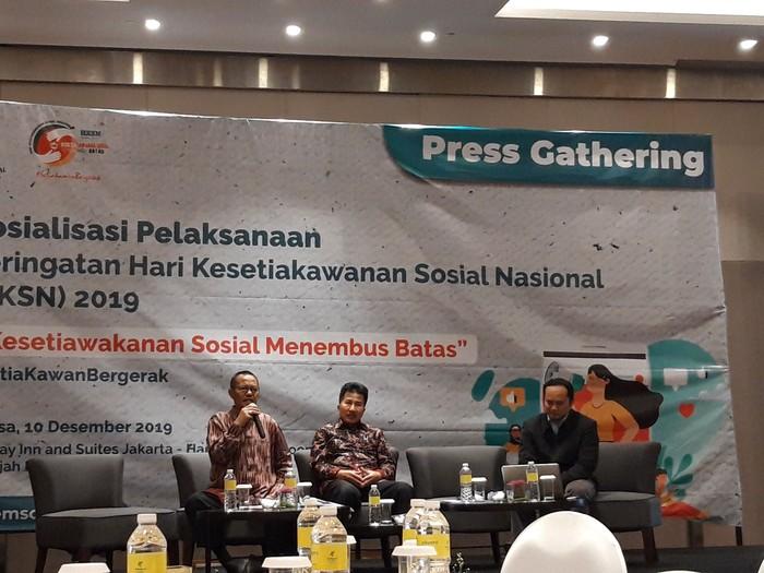 Foto: Press Gathering Hari Kesetiakawanan Sosial Nasional 2019 (Rahel-detikcom)
