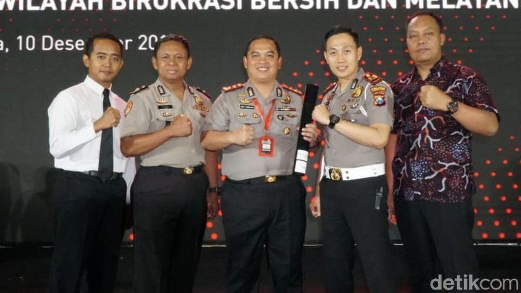 Pelayanan Publik Antar Polres Jombang Raih Predikat Wilayah Bebas Korupsi