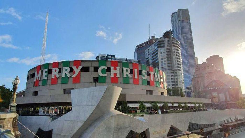 Sudah 5 Tahun Hiasan Natal di Kota Melbourne Tidak Berubah, Apa Alasannya?