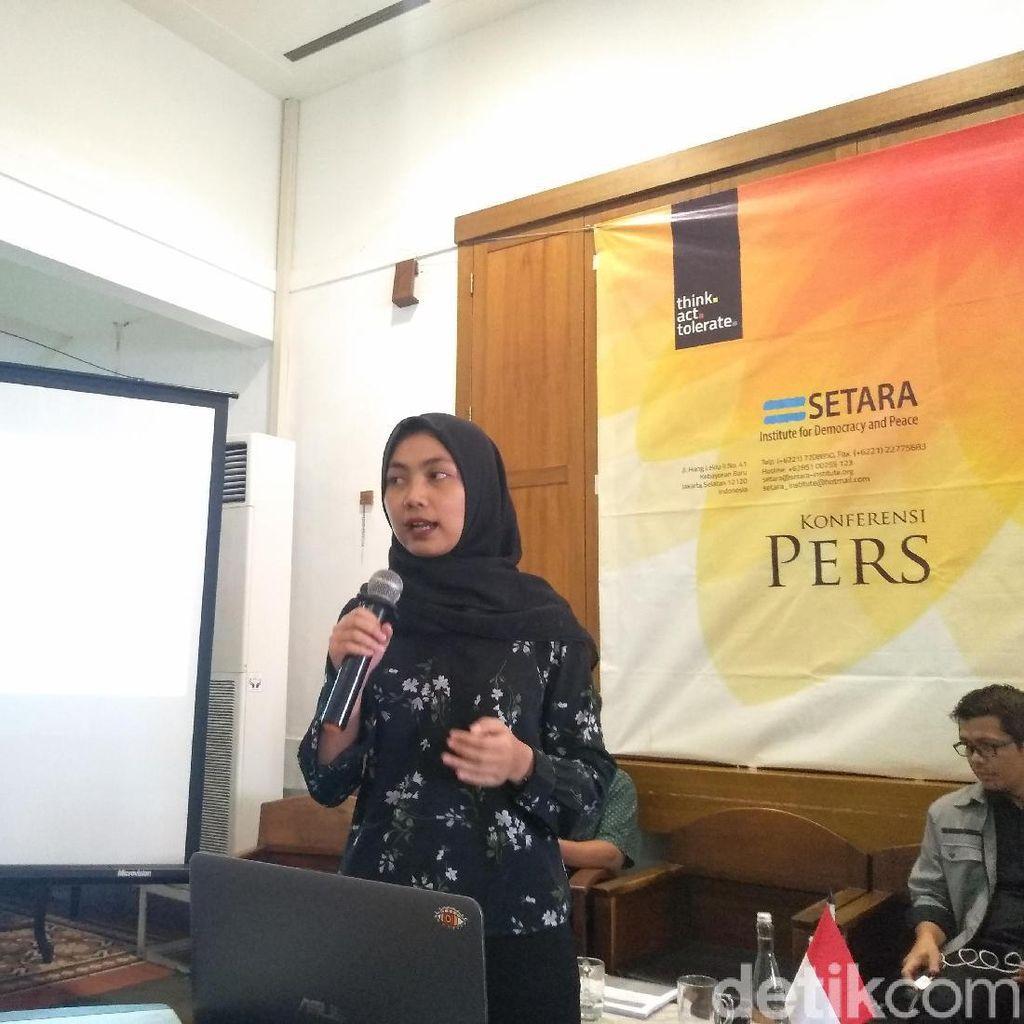 Setara Institute Anggap Kebebasan Ekspresi di Zaman Jokowi Punya Catatan Buruk