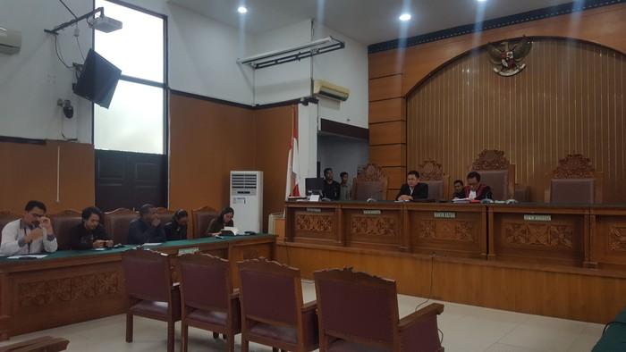 Sidang Praperadilan di PN Jaksel (Zunita/detikcom)