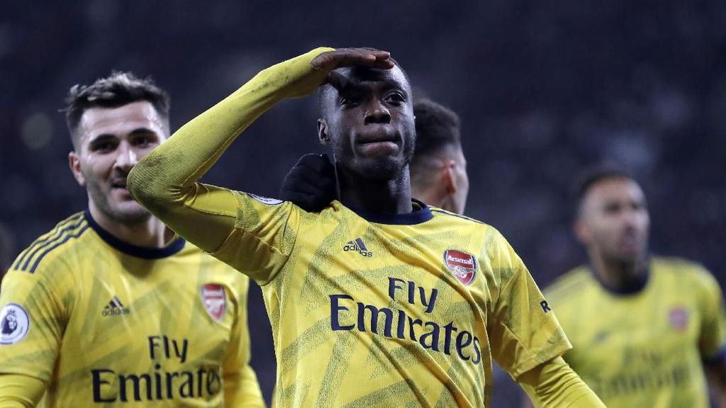 Karena Pepe Butuh Adaptasi Dulu di Arsenal