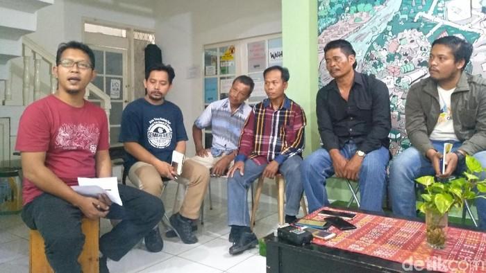 Konpers Walhi (Nur Azizah Rizki Astuti/detikcom)