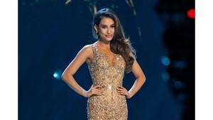 Gaya Seksi Frederika Alexis Cull di Top 10 Miss Universe 2019
