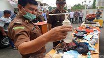 Rupa-rupa Alat Penghisap Sabu yang Dimusnahkan Kejari Sukabumi