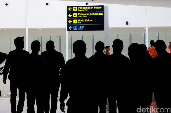 Terminal baru Bandara Internasional Syamsudin Noor Banjarmasin mulai beroperasi hari ini, Selasa 10 Desember 2019.