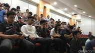 BEM Nusantara Audiensi dengan Komisi III DPR, Polisi Berjaga