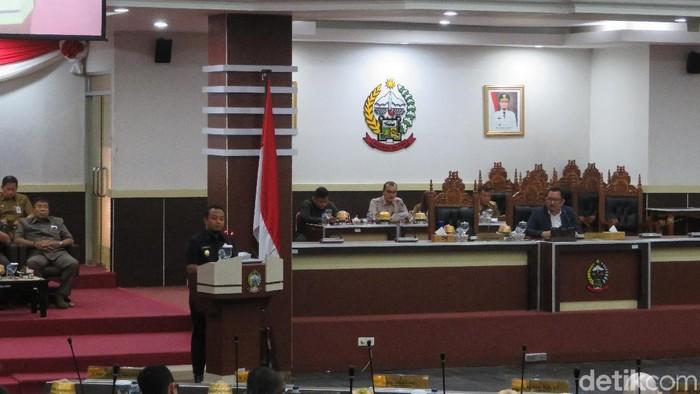 Foto: Noval Dhwinuari Antony-detikcom/DPRD bersama Pemerintah Provinsi Sulawesi Selatan (Sulsel) melakukan pembahasan terkait penyusunan rancangan peraturan daerah (Ranperda) tentang pelestarian warisan budaya tak benda.