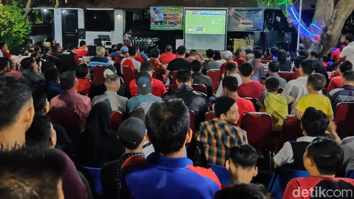 Nobar Timnas Indonesia U-23 vs Vietnam/Foto: M Rofiq