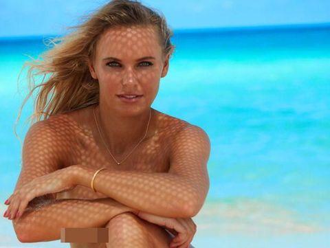 Ketika Petenis Cantik Pemotretan Bikini untuk Majalah Sports Illustrated