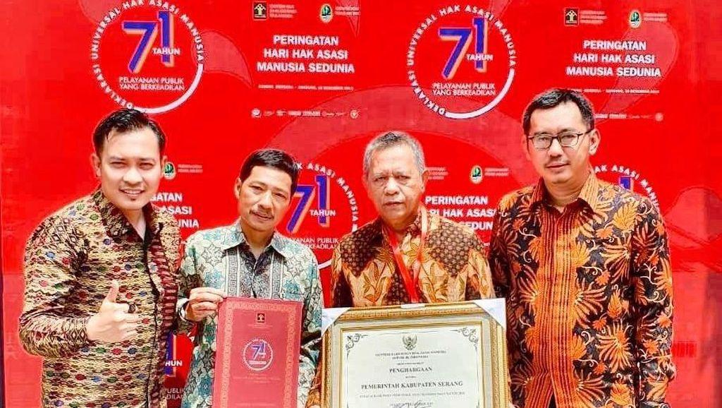 Pemkab Serang Raih Penghargaan Peduli HAM Tiga Kali Berturut-turut