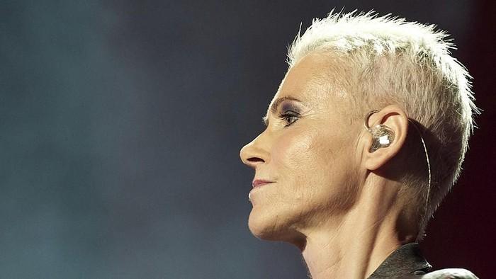 Mendiang vokalis Roxette, Marie Fredriksson yang mengidap tumor otak (Foto: Getty Images)