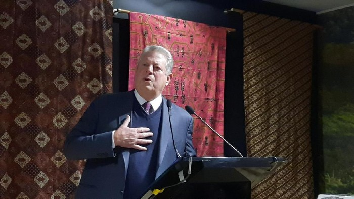 Founder and Director of The Climate Reality Project, Al Gore (Mei Amelia/detikcom)