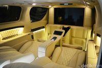 Interior mobil seperti kabin pesawat