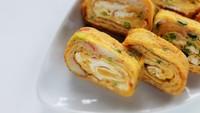Yuk, Bikin Omelet Gulung Jepang yang Lembut Buat Sarapan!