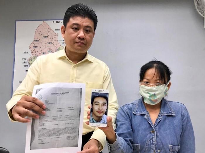 Lee ditipu pacarnya yang dikenalnya di Facebook. Foto: dok. The Star