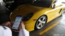 Razia Pajak Kendaraan Kini Sisir Parkiran Mal Jakarta