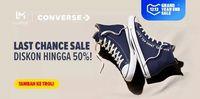 5 Brand Sepatu yang Lagi Diskon, Converse Hingga Wakai