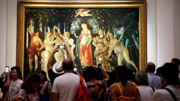 Karya Renaissance jadi favorit para turis di kota ini. Anda berkesempatan untuk melihat museum-museum terkenal di Florence (Foto: CNN)