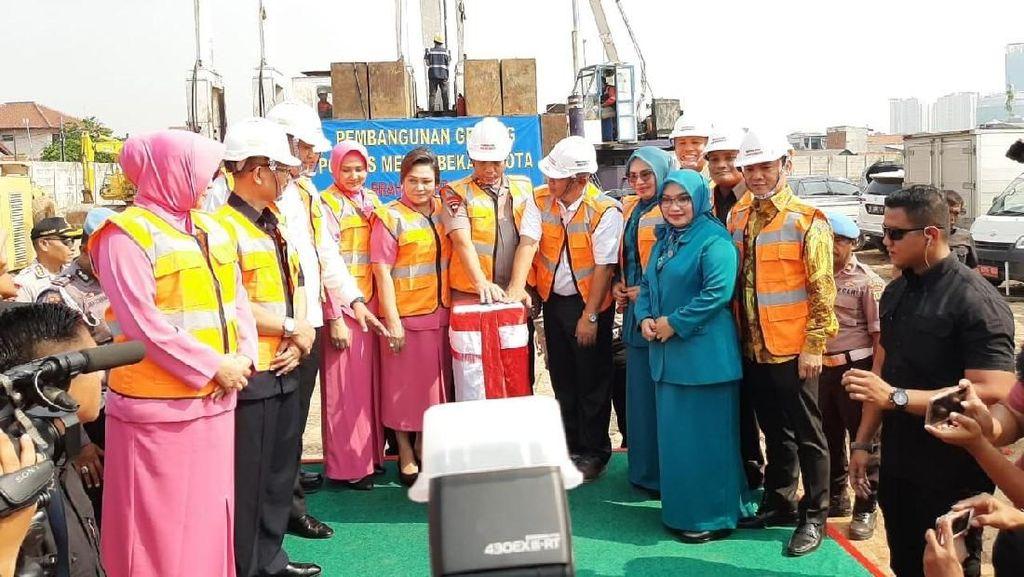 Gedung Polres Metro Bekasi Dibangun Pakai APBD Rp 47 M, Tuntas 1 Tahun
