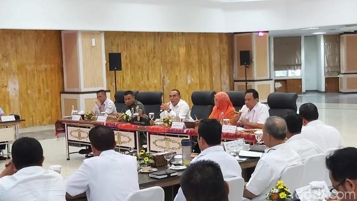Gubernur Edy Kesal Listrik Sering Byarpet di Sumut