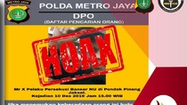 Polisi Pastikan Selebaran DPO Kasus Persekusi Banser di Jaksel Hoax