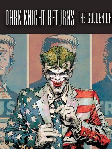 Joker Berdiri di Depan Poster Donald Trump Jadi Perhatian