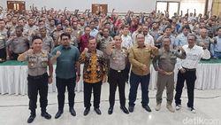 Polisi Kota Kediri Pelatihan Pengamanan Antisipasi Gangguan Pemilu 2020