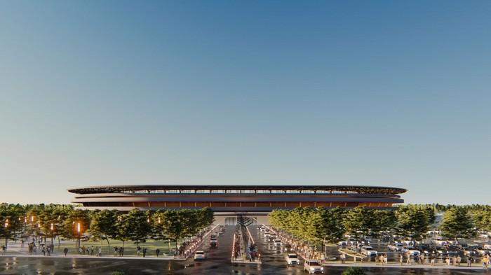 Desain Baru Stadion Mattoanging (Foto: Istimewa)