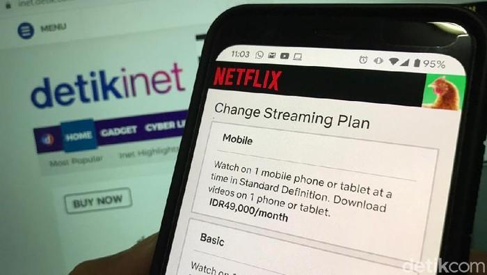 Menkominfo Minta Netflix dan Telkom Duduk Bareng (Adi Fida Rahman/detikINET)