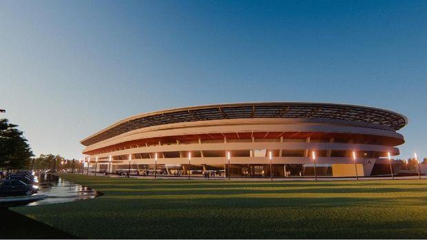Desain Baru Stadion Mattoanging