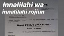 Kabar Pemilik Sate Klathak Pak Pong Meninggal Ternyata Hoaks