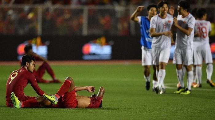 Timnas U-22 kalah di SEA Games 2019 (Foto: Sigid Kurniawan/Antara)