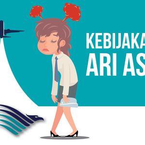 Kebijakan Kejam Ari Askhara ke Awak Kabin Garuda