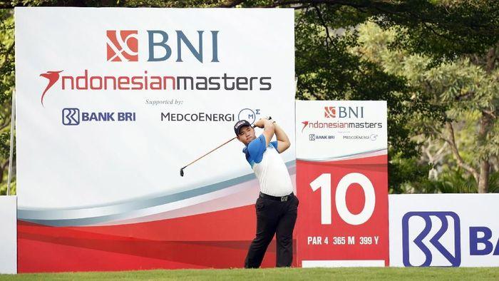 Pegolf rookie Korsel Kim Joohyung ingin sukses di BNI Indonesian Masters pertamanya. (Foto: ist.)
