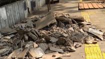 Pembongkaran Trotoar Cikini karena Perubahan Posisi Manhole dan Ducting