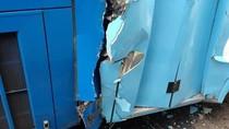 Sopir Ngantuk, 2 Unit Bus TransJakarta Kecelakaan di Halte Walkot Jaktim